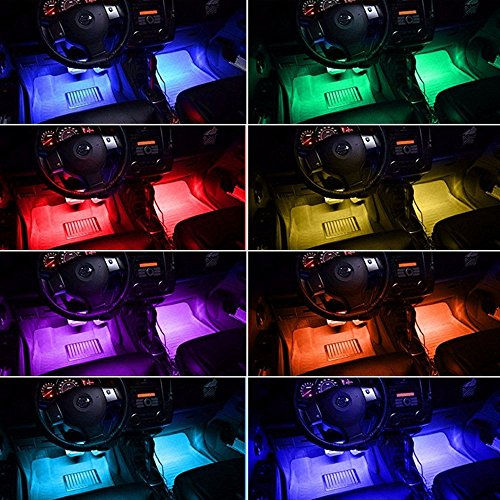 Ambother 4x 12 color 36 led car led interior atmosphere decorative ambother 4x 12 color 36 led car led aloadofball Gallery