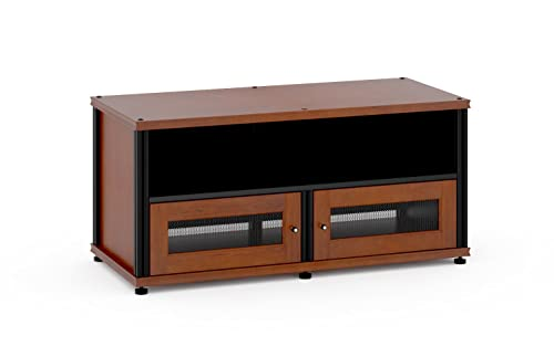 Salamander Designs SB229C B Synergy Two Shelf A V Cabinet with Doors and a Center Channel Opening