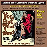 Classic Blues Artwork from the 1920's: 2015 Calendar (+CD)
