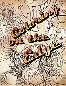 Coloring On The Edge Adult Book