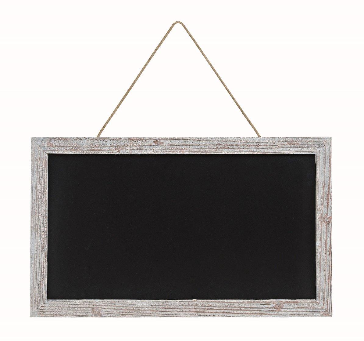 Geschenkestadl Große Kreidetafel Memotafel zur Beschriftung 63 x 38 cm Küchentafel Holzrahmen Tafel zum Hängen Wandtafel Unbekannt