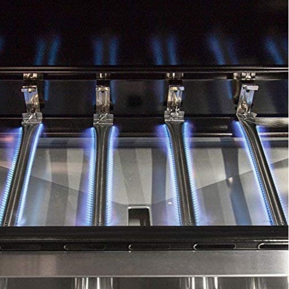Wondjiont Universal Gasgrill Brenner f/ür Master Schmiede 12-17,6, 4er Pack Perfekte Flamme Ausziehbare L/änge von 30,8 cm bis 44,5 cm Lowes und andere Modell Grills Uniflame
