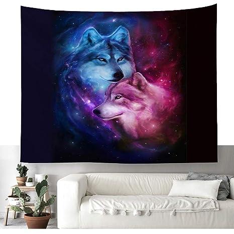 Fastasy Space Wandteppich Kunst Wandbehang Tisch Bettdecke Wohnkultur