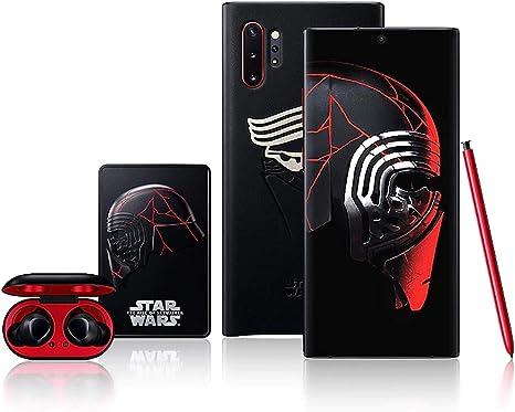 Samsung Galaxy Note 10+ Plus: Star Wars Special Edition 256 GB SM-N975F/DS Dual SIM (GSM solamente, sin CDMA) Smartphone desbloqueado en fábrica 4G/LTE (Aura Negro) – Versión internacional: Amazon.es: Electrónica