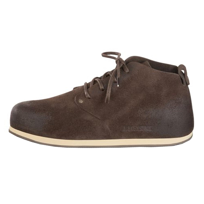 Birkenstock Dundee 692063 - Zapatos casual de ante unisex, BLACK-N, 44.0 EU