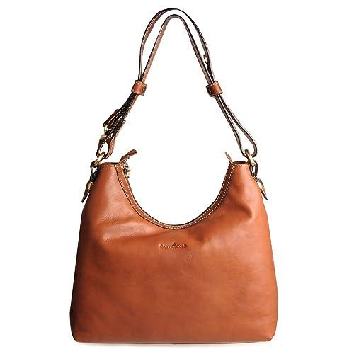 d764c528727736 Gianni Conti Women's Modena Shoulder Bag One Size Cognac tan: Handbags:  Amazon.com