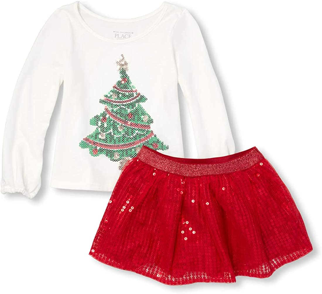 The Childrens Place Baby Girls Holiday Sweater