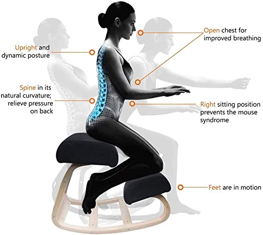 DBWIN Chaise à Genoux Ergonomique, pour Le Dos, la Douleur