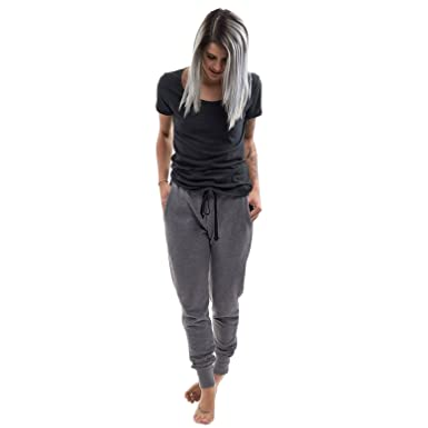 ced717298 Organic Cotton & Eco Friendly Polyester Jogger Sweatpants (Unisex Joggers)  at Amazon Women's Clothing store: