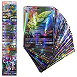 100 Cards TCG Style Card Holo EX Full Art! 80 EX Cards and 20 GX Cards