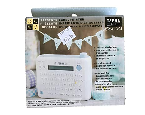 King Jim Washi TEPRA LITE Label Printer English Edition