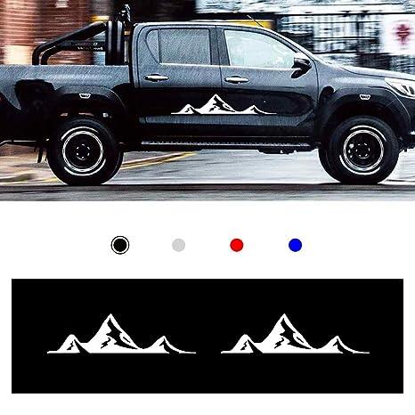Amazon.com: Autotoper Car Side Door Skirt Strip Sticker ...