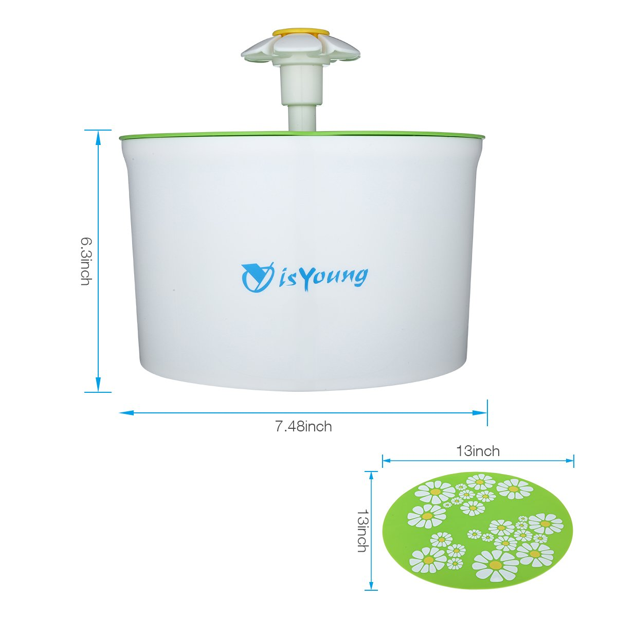 isYoung Fountain 1.6L Automatic Pet