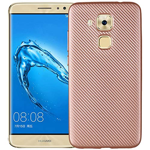 Huawei Honor 5C/GT3/Honor 7Lite Lines Case, Portable Twill Carbon Fiber Useful Cover, HUZIGE New Come Soft Shiny Outdoor Scratch Proof Thin Slim Phone Light Case For Huawei Honor5C - Gt3 Fiber Carbon