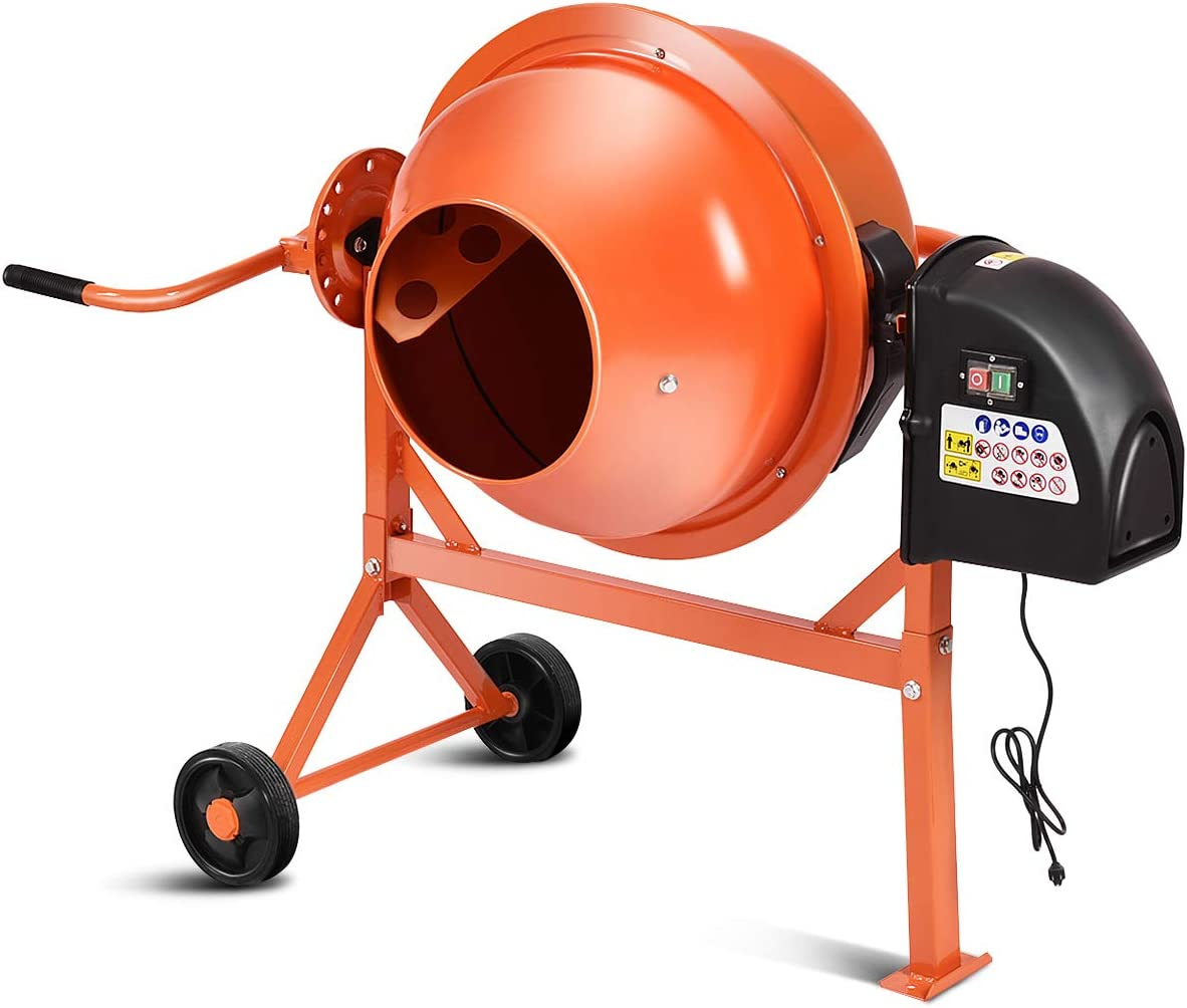 Goplus Electric Cement Concrete Mixer