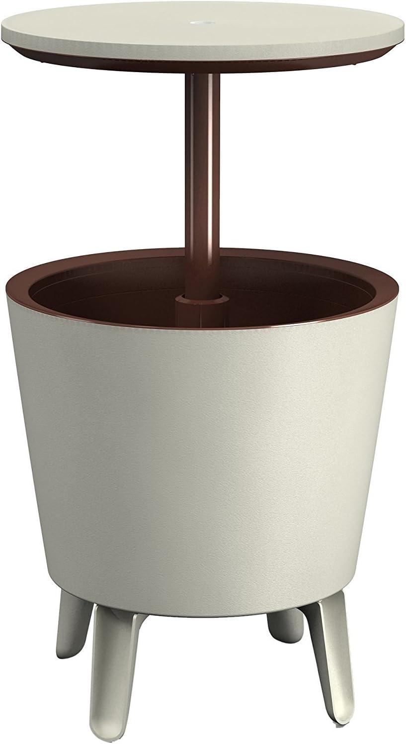 Zanvic Mesa cubitera con luz Ice Drink, 100 cm, Blanco, ZA65 ...