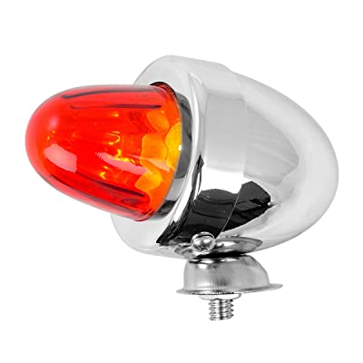 GG Grand General 80484 Cr. Bullet Red Marker Light w/o Visor: Automotive