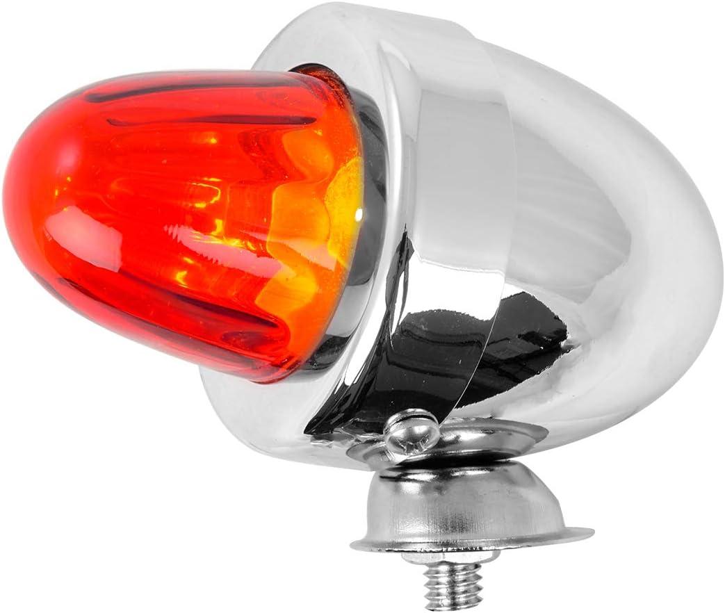 GG Grand General 80481 Cr Bullet Amber Marker Light w//o Visor