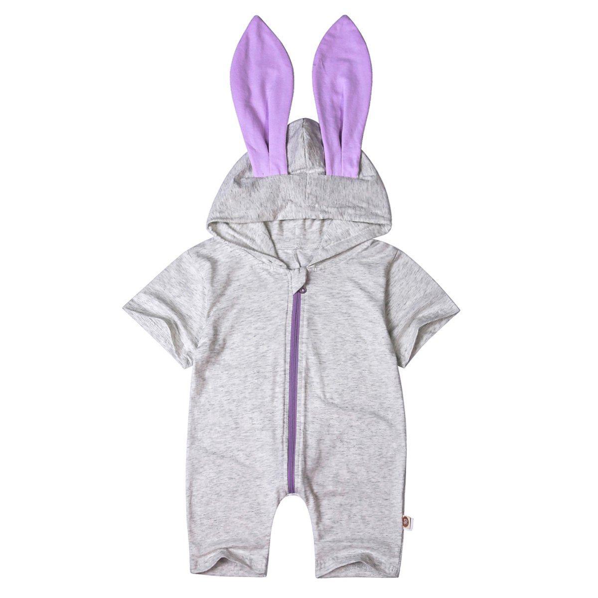 Minilove Baby Boys Girls Dinosaur Rabbit Hoodie Romper