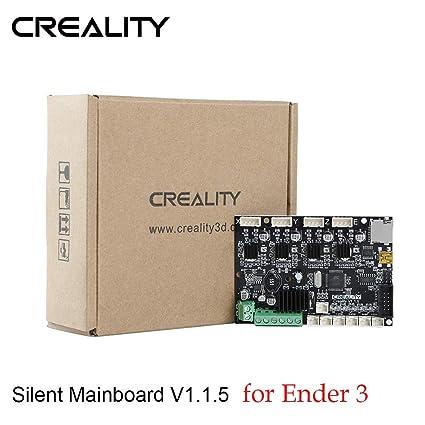 Amazon.com: Placa base silenciosa Creality Upgrade V1.1.5 ...
