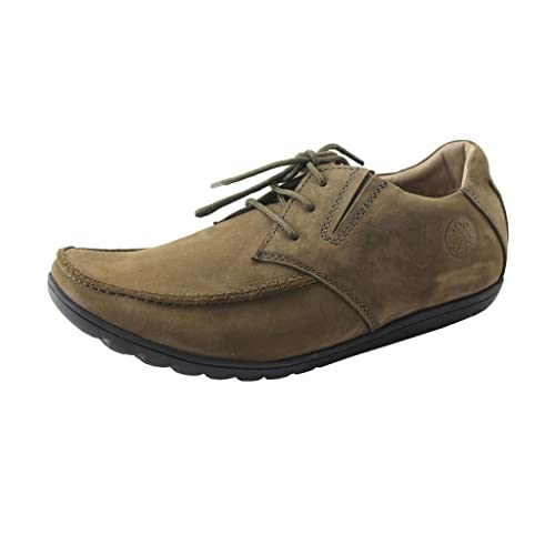 f74e733ac9f8 Doc and Mark Leather Boat Shoe 968OLV  Buy Online at Low Prices in India -  Amazon.in