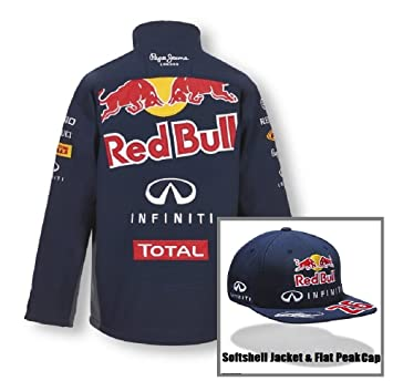 Red Bull Racing Formula One 1 F1 para hombre softshell chaqueta y ...