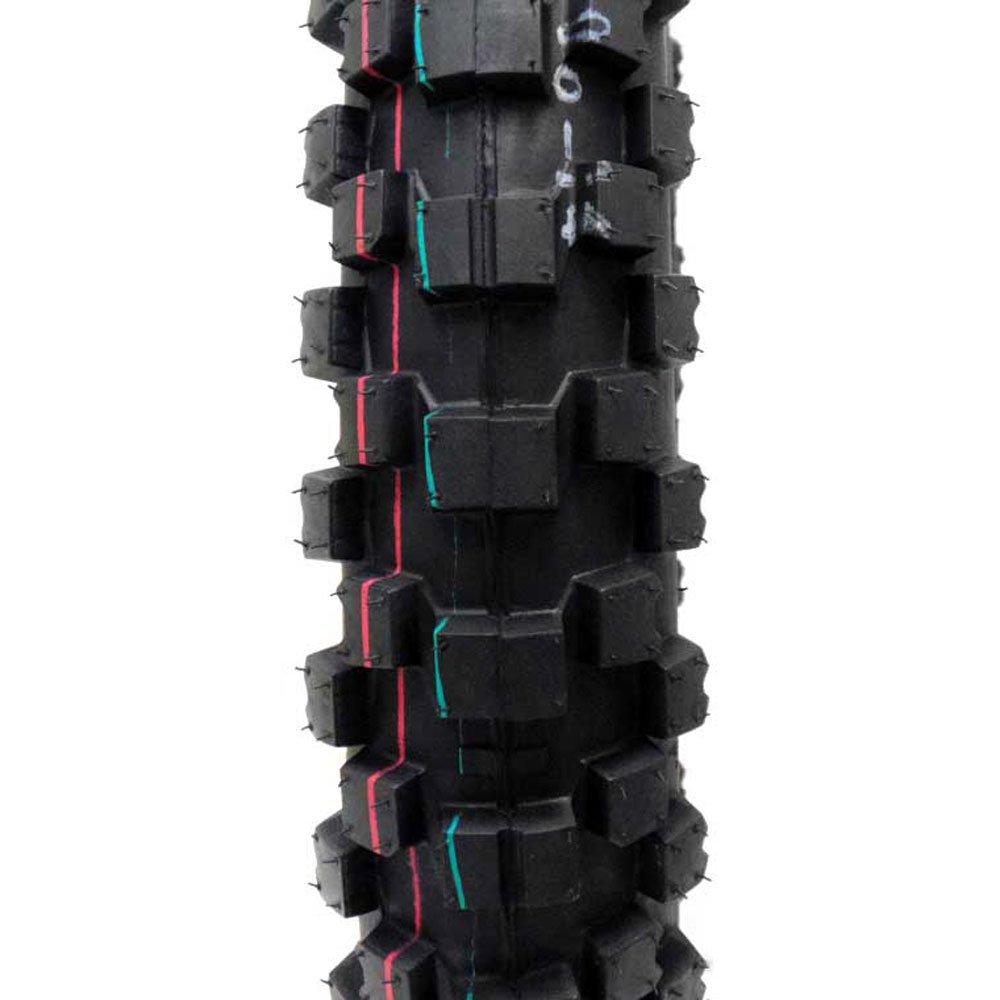 COMBO: Dirt Bike TIRE Size 90/100-14 + INNER TUBE Size 90/100-14 TR4 Valve Stem by MMG (Image #2)