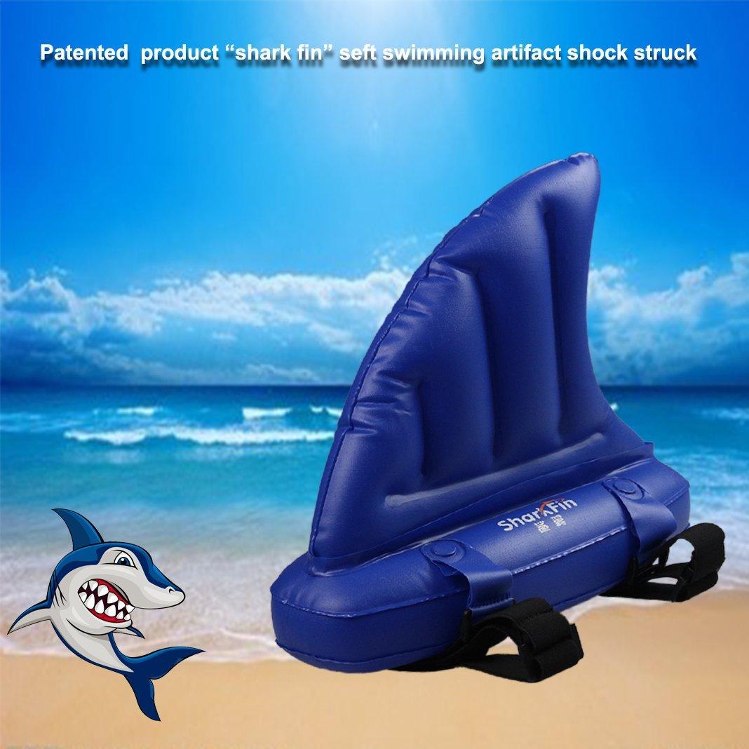 Flotador para niños,ZXK CO Hinchable Animal Flotador Aleta de Tiburón Juguete para Niños Aprende Nadar Mayores de 3 años: Amazon.es: Deportes y aire libre