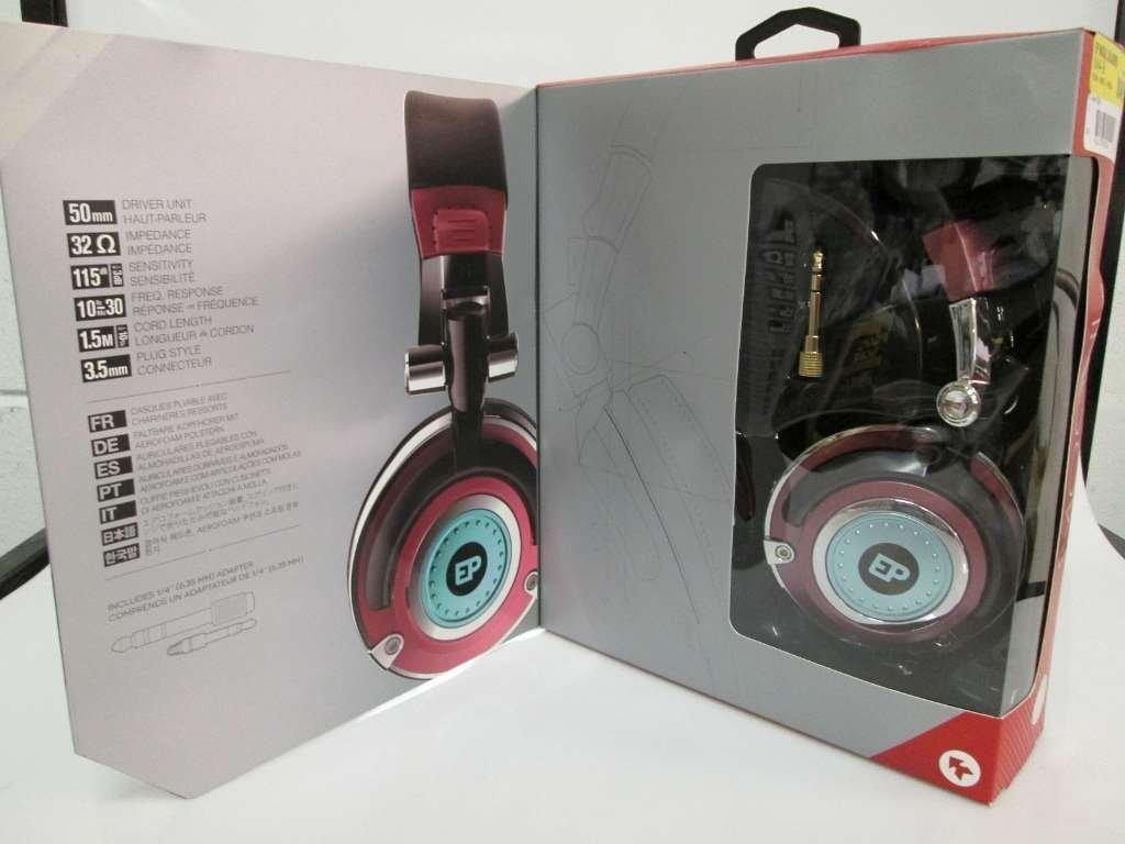 EarPollution Mogul Headphones - Blue/Red