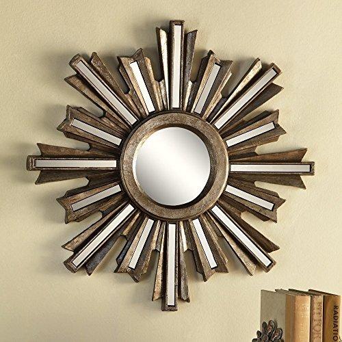 SPI Home Gold Deco Sunburst Wall Mirror