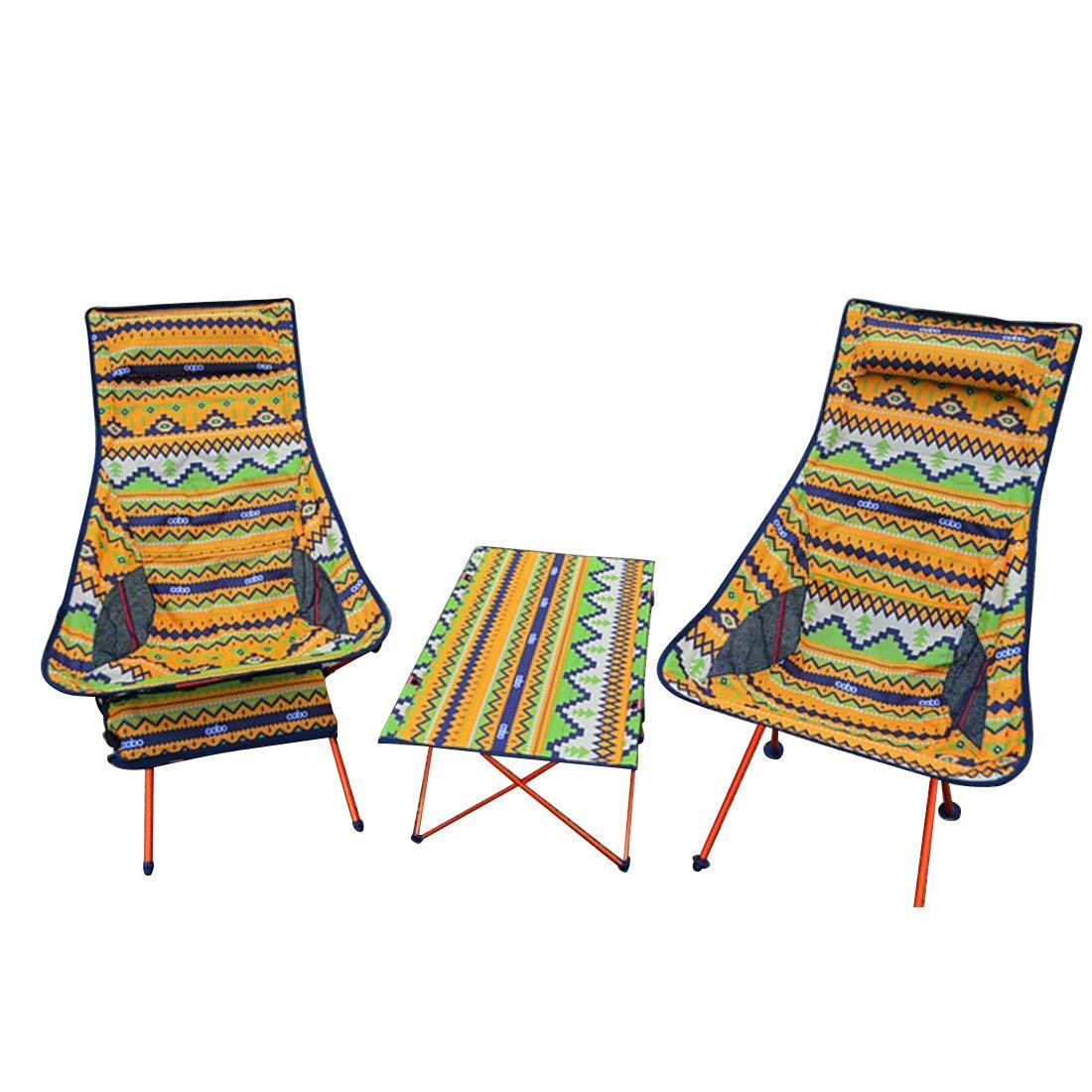 FUBULECY Es ist geeignet für die Faltung und tragbare Aluminiumstühle für Camping oder Angeln im Freien.