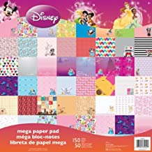 """Sandylion SC9601 Disney Mega Paper Pad, 12 by 12"""", Girl"""