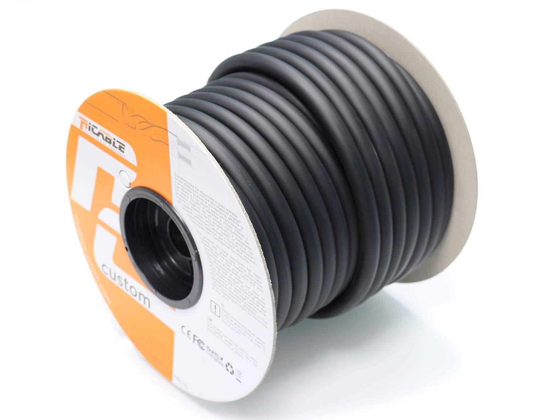 Ricable Custom U4P/10-10 mt. Cavo di Alimentazione Hi-Fi Schermato 3 x 4 mmq