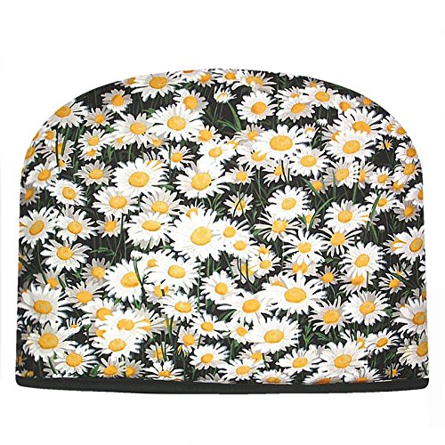 Blue Moon Daisies Tea Cozy Double Insulated Tea Cosy Keeps Tea Warm for Hours by Blue Moon Fine Teas