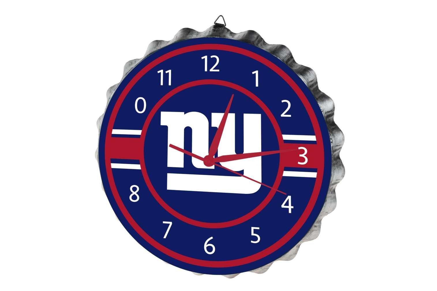 New York Giants Bottlecap Clock by FOCO