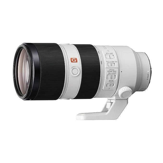 Sony SEL70200GM E Mount FE 70 200 mm F2.8 GM OSS Lens  White  Camera Lenses