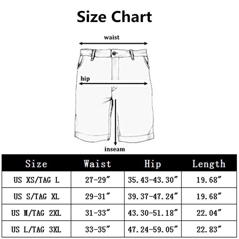 HIENAJ Men's Solid Modal Sleepwear Shorts Basic Thin Pajama Loose Lounge Beach Wear by HIENAJ (Image #2)