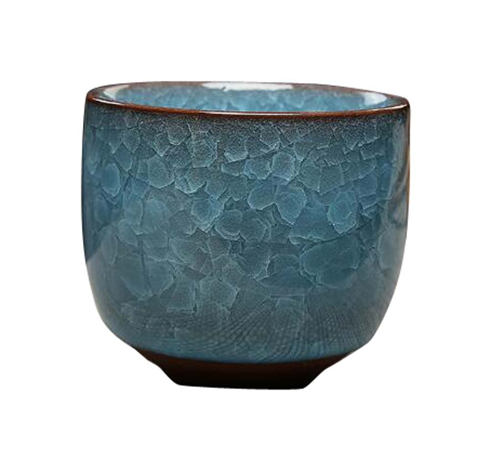 DRAGON SONIC Set Of 4 Office Tea Cup Japanese Style Sake Cups Ceramic Wine Sets-D2