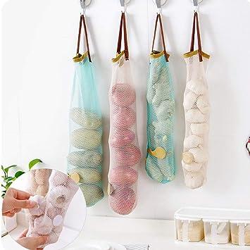 Amazon.com: Bolsa para colgar de frutas y verduras de cocina ...