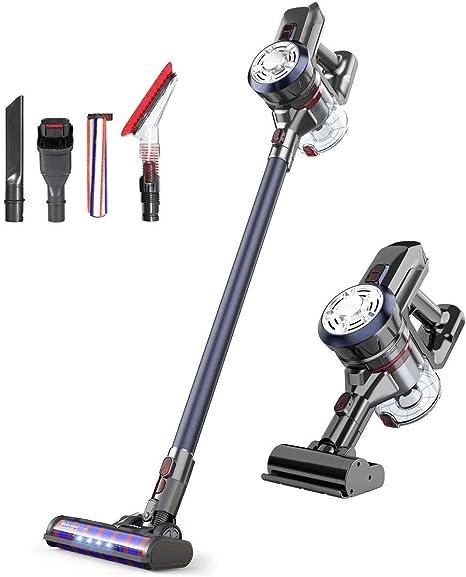 Rozi Robot Aspirador Alta Succión 1600Pa, Aspiradora Robótica Autocargable,4 Modos de Limpieza,Súper Silencioso Robot Aspirador y Fregasuelos para Pelo de Mascotas/Suelos Duros/Alfombra (Negro): Amazon.es: Hogar