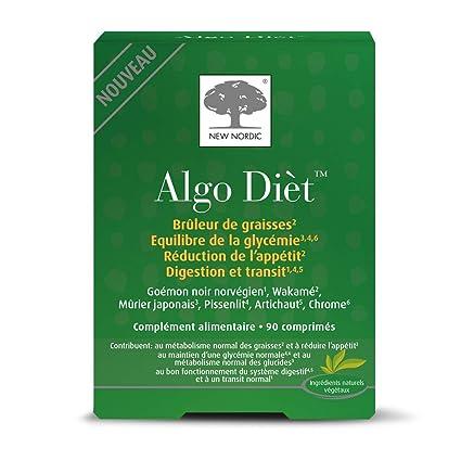 New Nordic Algo Dièt - Suplemento adelgazante - 90 pastillas