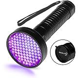 Escolite UV Flashlight Black Light, 100 LED 395 nM Ultraviolet Blacklight Flashlights Detector for Dog Urine, Pet Stains…