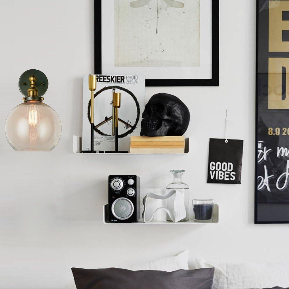 Frideko Deckenpendelleuchte im Vintage-/Industriestil für Zuhause, Büro und Café, glas, 1 Pcs, E27 60.00W 220.00V 1 Pcs, Wall Light