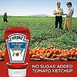 Heinz Tomato Ketchup, No Sugar Added, 13 Ounces