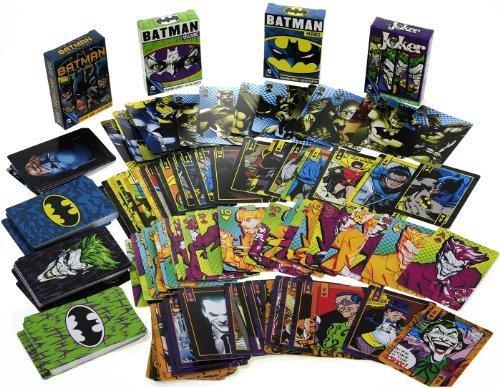 DC COMICS Themed Playing Cards _ Assort #1 _ Bundle 4 Unique Decks ()