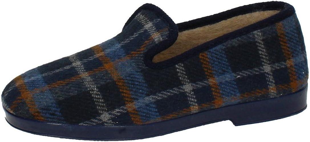 CHAPINES 91 Cuadros PAÑO Cerrada Hombre Zapatillas CASA: Amazon.es: Zapatos y complementos