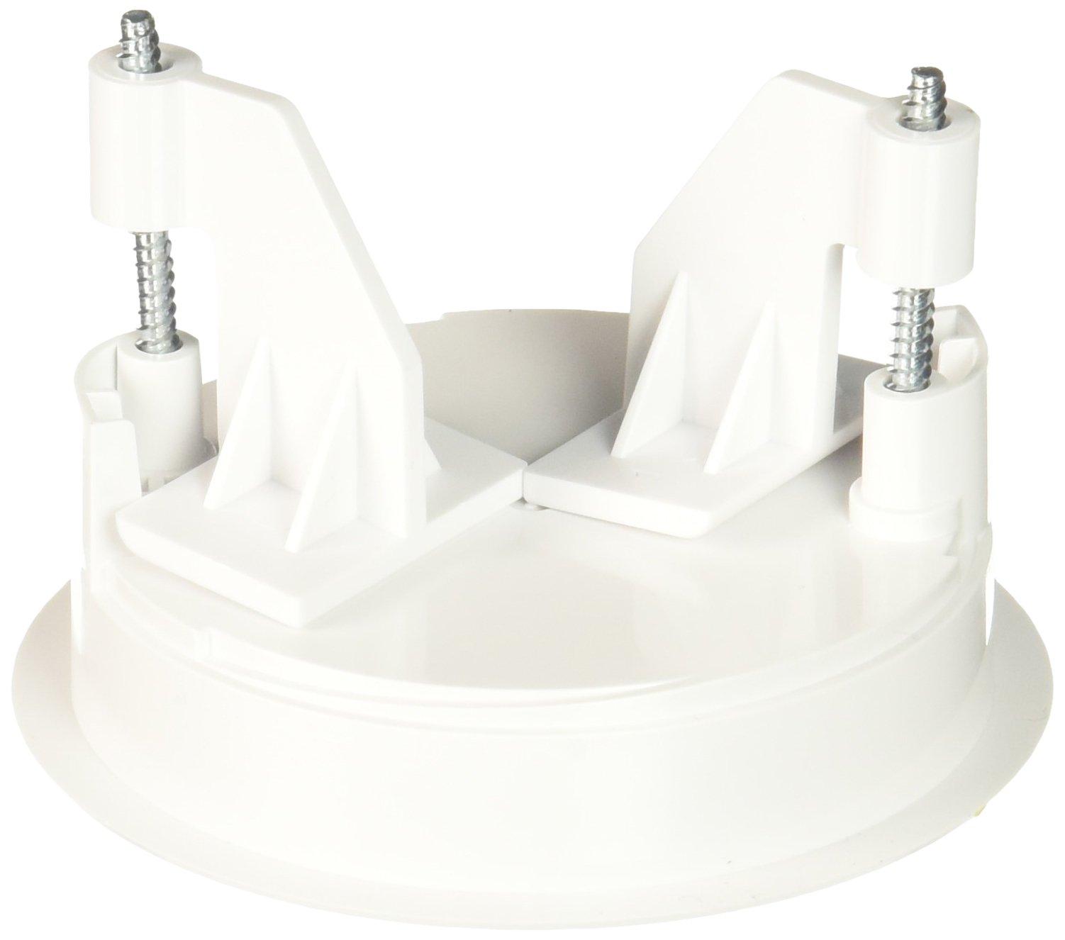 Lutron L-CRMK-WH Recess Mounting Bracket for Radio Power Saver Wireless Ceiling Mounted Sensors, White