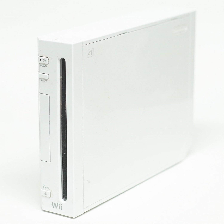교체 화이트 닌텐도 WII 콘솔-케이블 또는 액세서리 없음(갱신)