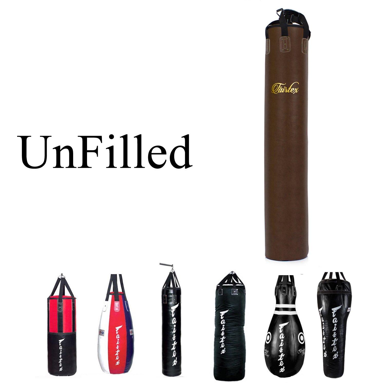 Fairtex Heavy Bag UNFILLED (HB6TB Banana Bag) by Fairtex