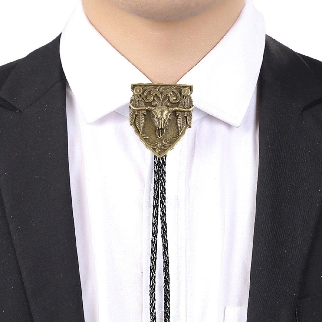 Corbata Bolo de Camisa de Hombres Estilo Vaquero Occidental ...